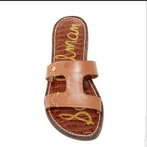 Sam Edelman Keen brown leather sandals size 9